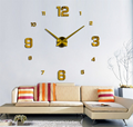 Wholesale home decorative 24 hour time digital antique home goods wall clock
