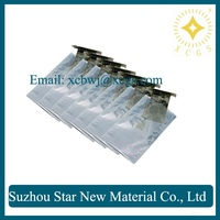 Resealable plastic anti-static shielding bag for product protection