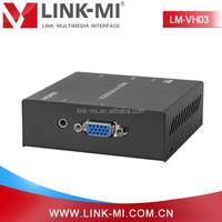 LINK-MI s-video vga rca to hdmi converter support PAL/NTSC standard 1080p