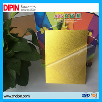 newest and best material abs laser engraving double plastic sheet