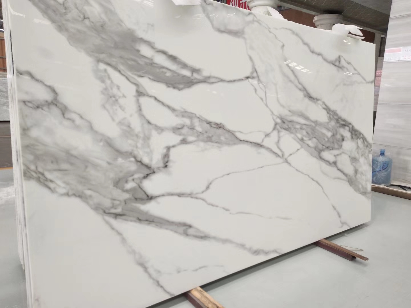 Super White Nano Crystallized Glass Nanoglass Slabs And Nanoglass Countertop