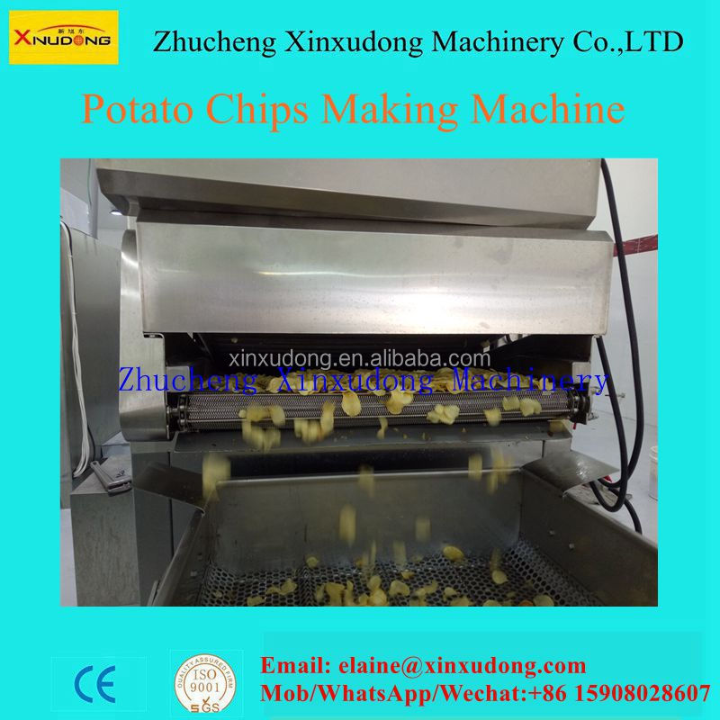 full automatic chips making machine chips maker
