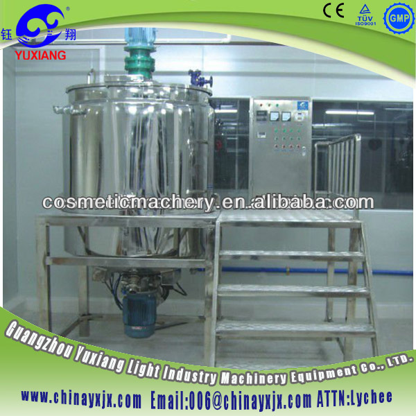 Factory Manufacturer Liquid Detergent Planetary Cake Mixer