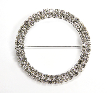 Wholesale Crystal Rhinestone Chair Sash Diamond Buckle
