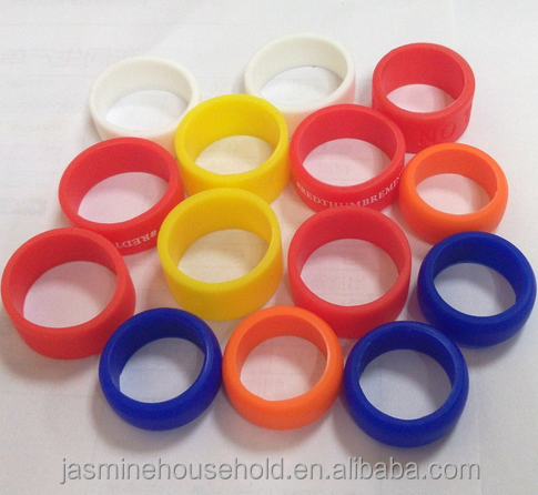 Hot Sales Promotion Gift Custom Colorful Silicone Finger Rings