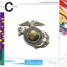 3D Military Badge Marine Service Badge Varius Craft Pattern Design Offset Epoxy Custom Pins