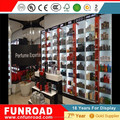 Illuminated high quality MDF and glass display counters for perfume kiosk in mall