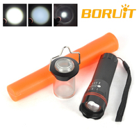 Multifunctional Camping Flashlight Traffic Torch Light With Traffic Wand +Camping lampshade