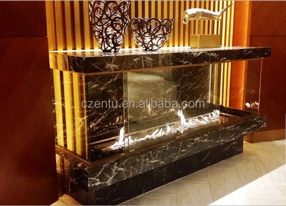 Smokeless Bioethanol Fireplaces no need chimney or other flue