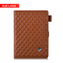 Genuine leather case for ipad ,for ipad air case
