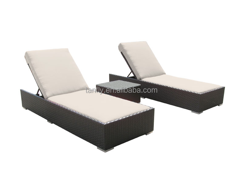 Outdoor furniture garden rattan furniture Sun Lounger beach chair