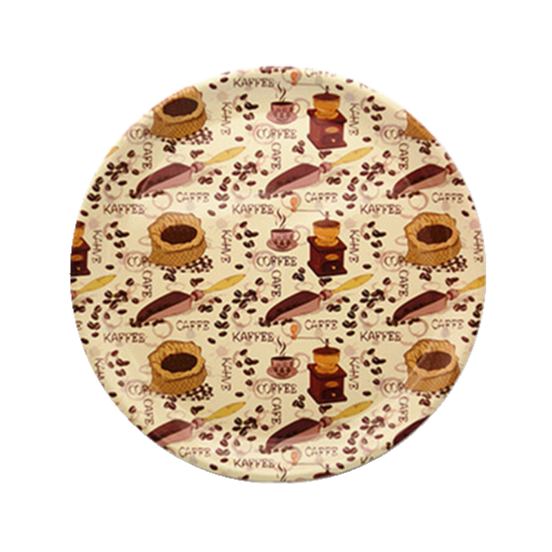 Newest design round shallow large 12 inch dinner plates