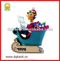 Hot sale classic decoration gift plastic 3d pretty girl model toy