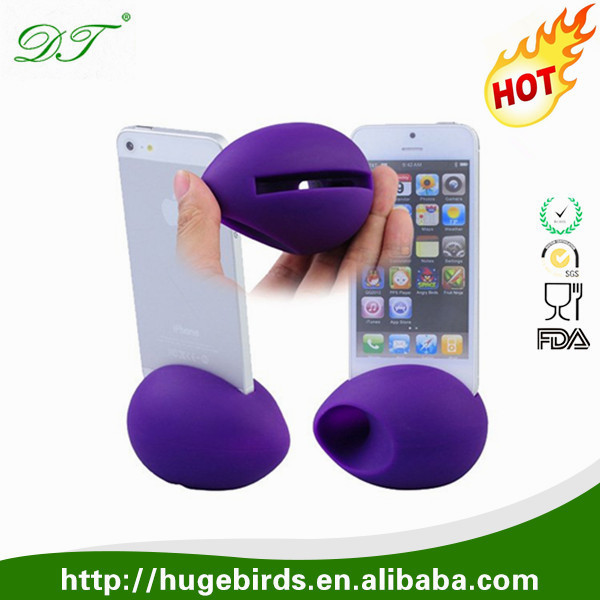 egg shape megaphone stand <strong>speaker</strong> for Iphone