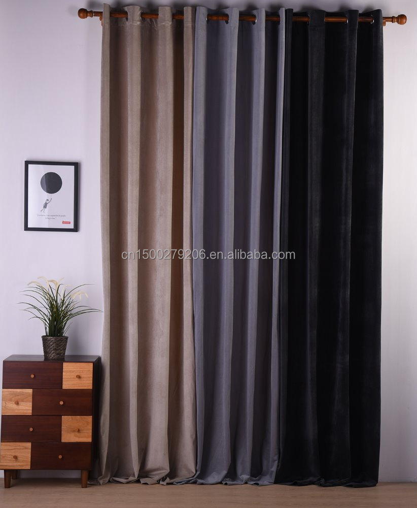 2016 New curtains style Luxury Curtains designs French window curtains for living room