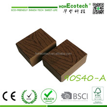 Waterproof solid wood decking China WPC CE ASTM cedar color wpc wood