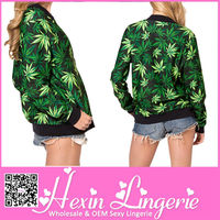 Hexin No MOQ high quality leaf jacket with air conditioning