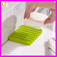 2015 new products creative silicone rubber soap dispenser holder for hotel