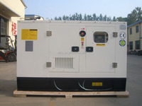 Silent diesel generators prices 180kva prime power with cummins engine