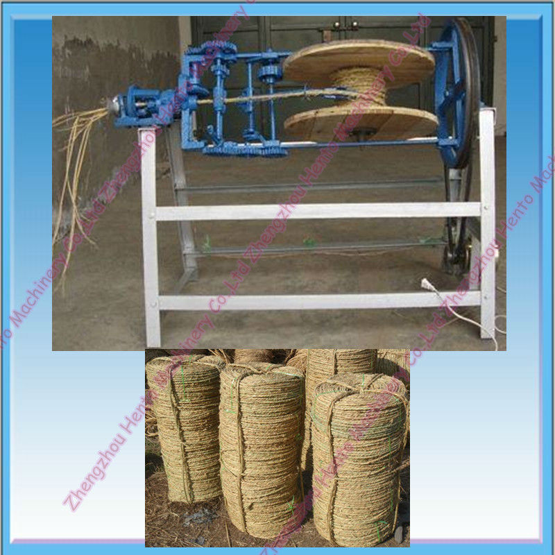 Best Selling Rice Straw Rope Making Machine