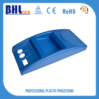 Customised perforated molded plastic trays logo action figure