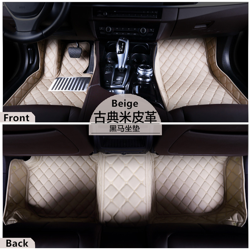 cars accessories XPE material Pu leather 5D car floor mat /car carpet for Range Rover Sport