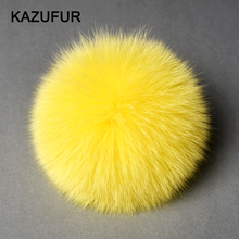 KZ151004 Real fox fur accessories fur ball