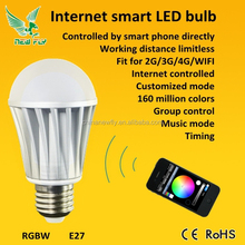 New Fly 2015 smart wifi bluetooth hidden camera light bulb