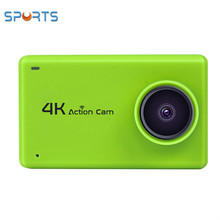 Touch screen 2.4G remote 4k 24fps sports camera B1 sport pro action cam 4k video camera