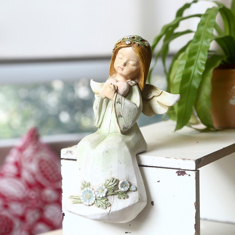 18cm very cute table decorations exquisite cherub angel for souvenirs