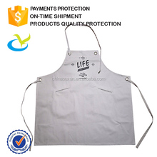 Wholesale promotion custom waterproof disposable BBQ chef 100% cotton aprons