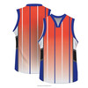 Custom made breathable basketball uniforms for team players