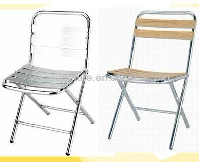 Ext rieur chaises pliantes en aluminium yc006 yc054 - Chaise exterieur aluminium ...