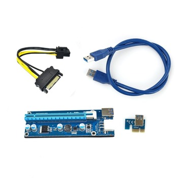 USB 3.0 PCI-E Express 6pin riser card