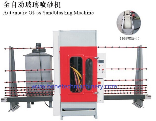 Automatic glass sandblasting machine for Sandblasting Glass