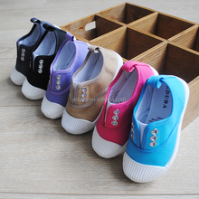 wholesale new fashion cool design canvas shoes for kids with 6 colors