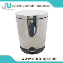 guangzhou special style large round rubber plastic water bucket outdoor waste bins(DSUD)
