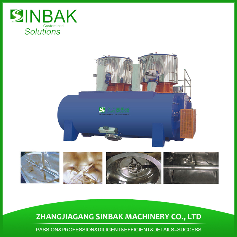 Phenolic resin mixing machine plastic material mixer unit for sale