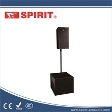 "10 inch line array system column speaker box 2x10""LF 1x3"" and HF 70-18.5kHz active speaker with amplifier 400w 8 ohms LQ-210A"