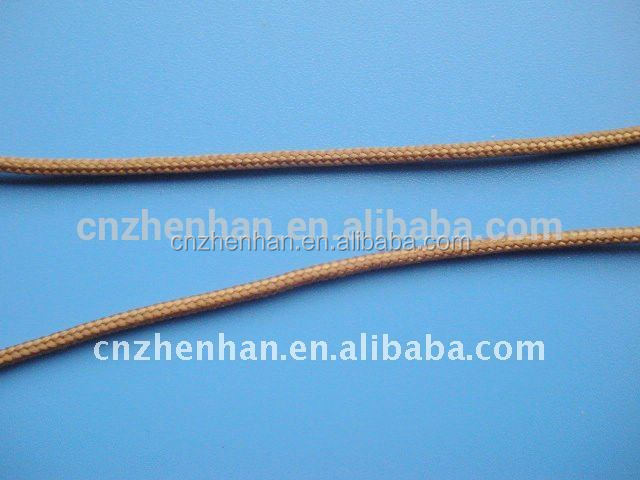 2.0*6MM Brown Terylene cord for bamboo blind wood blind, bamboo blind components,roman shade parts
