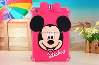 Cute Cartoon Mickey Minnie Mouse Design Silicon Soft Back Case Cover for iPad mini