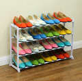 Hot sale free standing 20 pair free standing shoe boot rack cabinet rack shelf