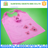 Wholesale eco friendly polyester tote cheap printed shopping bags