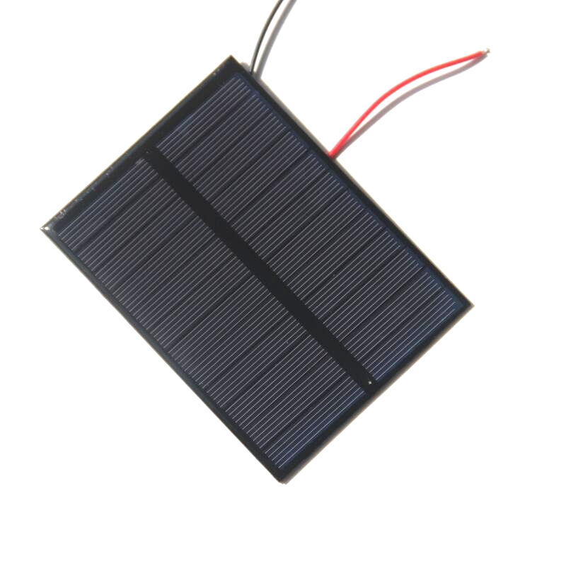 BUHESHUI 1.2W 6V Small Solar Panels Epoxy Mini Solar Cell Polycrtstalline Silicon Solar Panel For Batteries Charger 84*112mm
