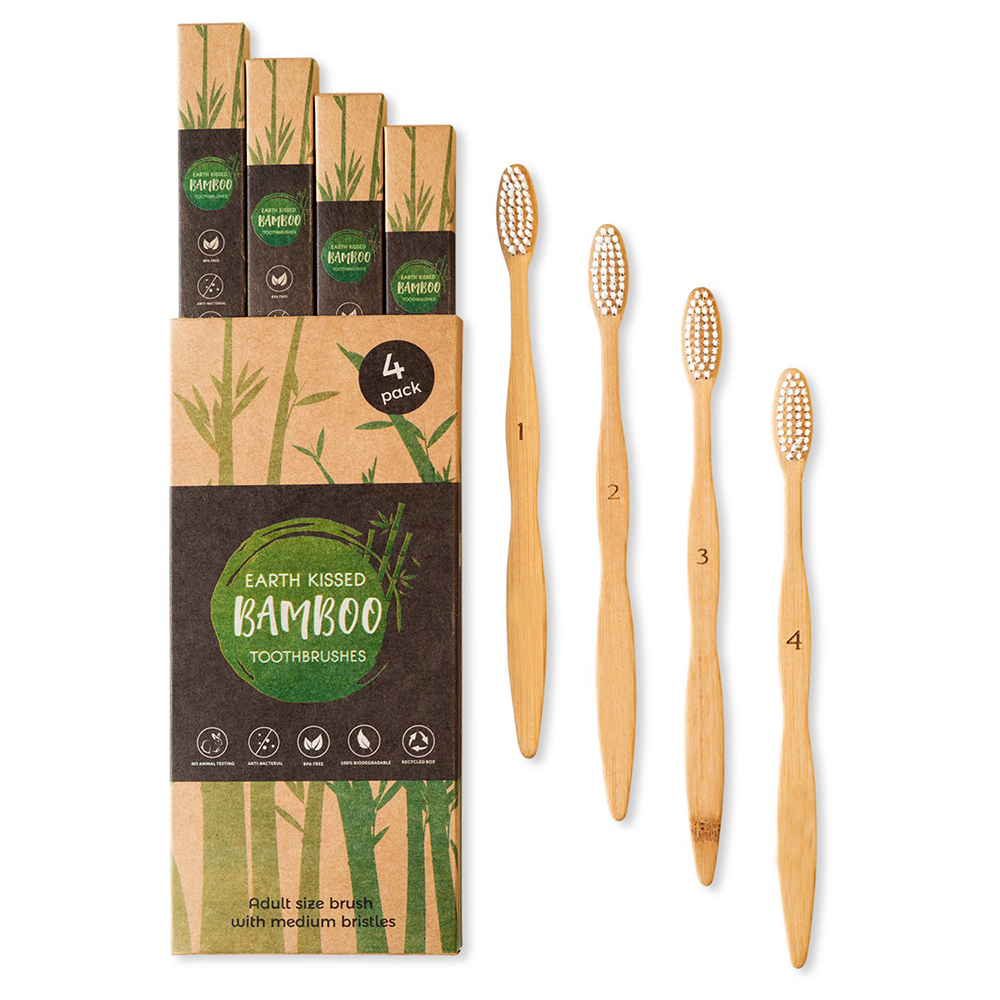 Wholesale Price Custom Private Logo Label 100% Natural Organic Degradable Eco <strong>Bamboo</strong> Toothbrush