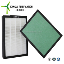 Polyester Fiber Pleated Air Filter for Rigid AC Air Filter