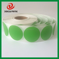 preprinted round mark stickers roll