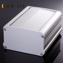 95*55mm Push and Pull Top Cover IP54 Wall Mount Aluminum Case Large Modern Housing for Electronics Project