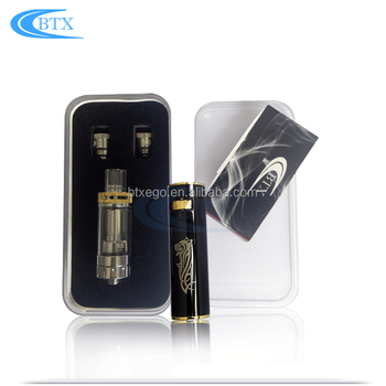 Top evod starter kit top airflow electronic cigarette evod vaporizer pen