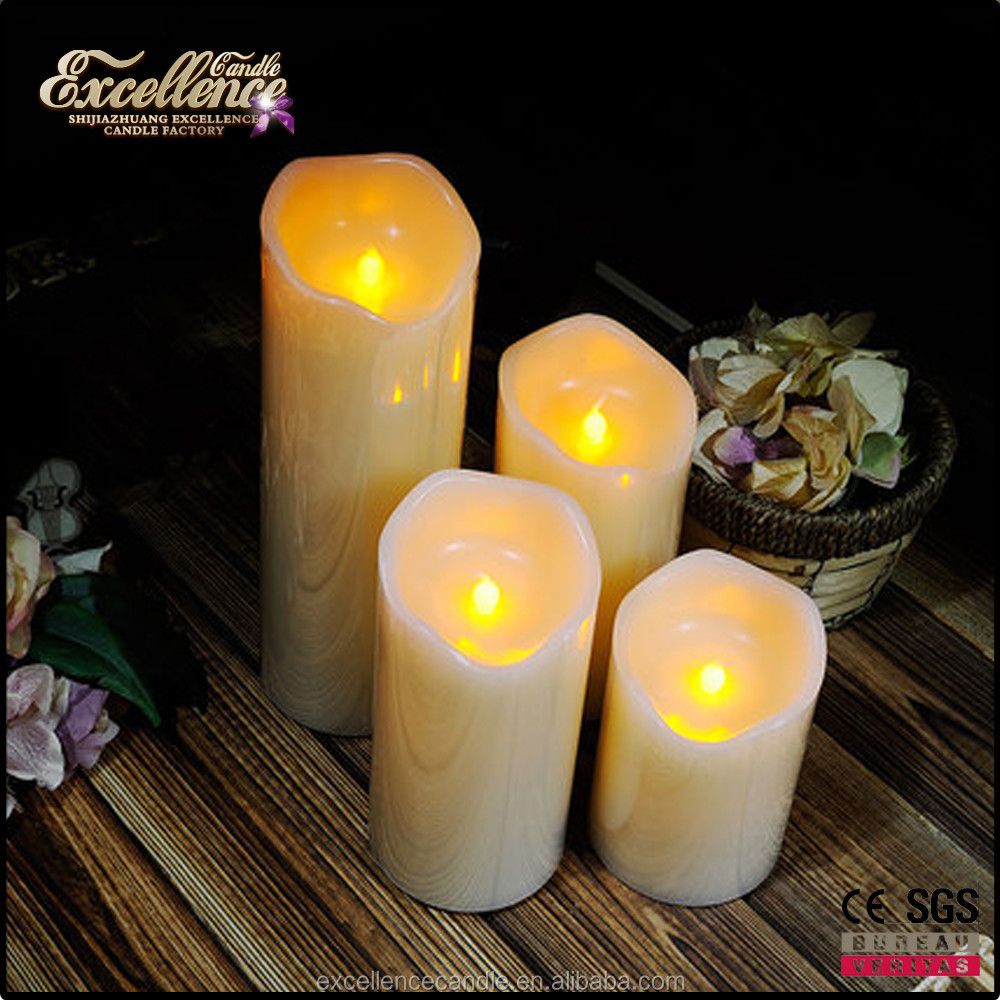 hot sale battery operated led flamess candle factory